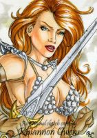 Red Sonja HeroesCon '09 by Dangerous-Beauty778