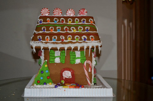 Gingerbread House by courtneyrodgers
