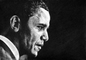 Barack Hussein Obama by earlierbirdscenic