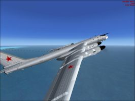 TU-95 'Bear' Shot 2 by Jamie-the-Luxray-95