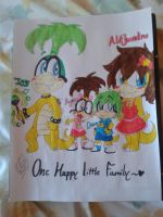 Iggy's Little Family by PoyosEpicProductions