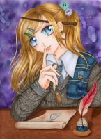 Luna Lovegood by maxicarry