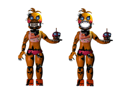 Nightmare Toy Chica by Nightmare-doodles