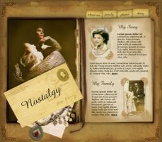nostalgy - personal page by designer4u