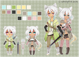 Fantasy Kemonomimi Auction [CLOSED] by WanNyan
