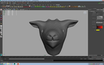 WIP 3D goat by CrazyLittleWolf