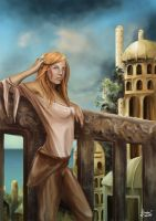 Wheel of Time's Aviendha by Gingybeer