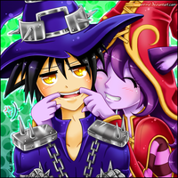 LoL :: Smile for me (Lulu x Veigar) by LuaSentinel