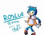 Roslue The Hedgehog by chef-cheiro