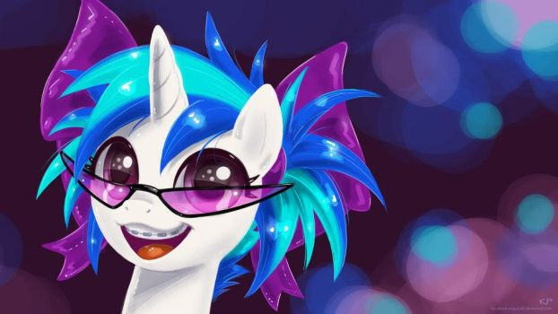 Young Vinyl Scratch by 1VinylScratch3