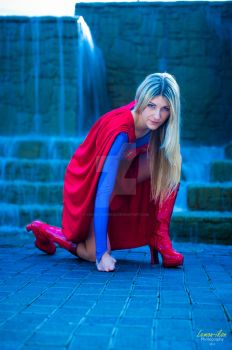 Super Girl, Pax South by Cosmic-Empress