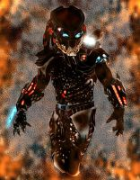 Mr_black_Predator_by  PredatrHuntr by Xeno-Crazy