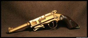 Mal's Pistol in Bronze v5.0 by JohnsonArms