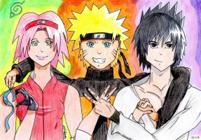 Naruto NEW YEAR by NightOfMyLife07
