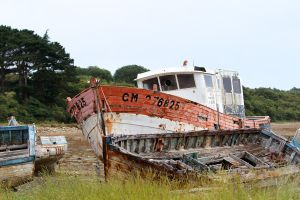 Ship Graveyard 07 Stock by lokinststock