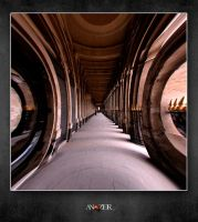 PALAIS ROYAL CORRIDOR by ANOZER