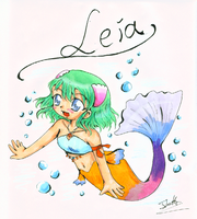 Leila the Mermaid by Mako-chan89