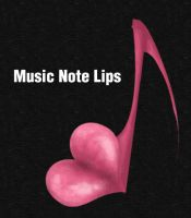 Music Note Lips Icon v.1 by fruit4dinner