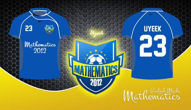 UGM mathematics jersey by uyeek