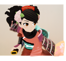 Momohime Vector by DoraLauer