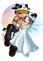 Gaia Online- Jannika and Devyn by MuEnLi