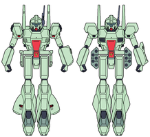 RGM-89R,M Jegan A and B types by ironscythe