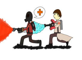 Just a TF2 match by wajose-the-plumper