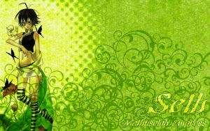 Trinity Blood wallpaper - Seth by piku-chan