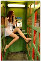 Kathryn - phone booth 1 by wildplaces