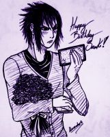 Happy birthday Sasuke by Alexsandra-G