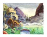 The Wizard's Cottage by helvainia