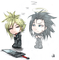FF7 Sleepy Cloud by DarkLitria