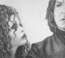 Bella and severus by snellatrix
