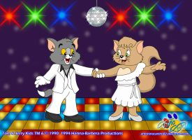 Disco Kittens by AntoninoCanino82