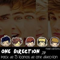 One Direction Iconos (Zip) by maarii03189