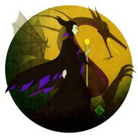 Maleficent by Ylden