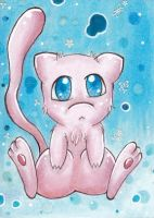 Mew doesn't want to be cute by MiaRose2611