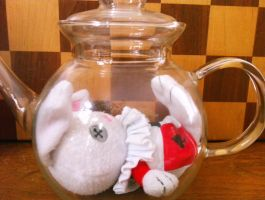 It seems I am in a teapot by sebbylover231