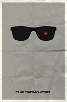 The Terminator (Minimalist Poster) by coyote23