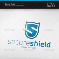 Secure Shield Logo by artnook