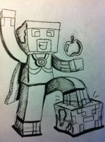 AntVenom's skin by BlackNinjaPlays