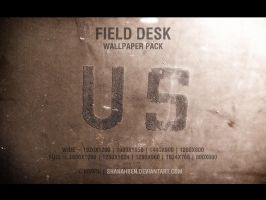 Field Desk Wallpaper Pack by shanahben