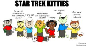 Star Trek Kitties by Vemavra