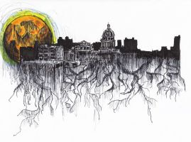 The Roots Of The City by Benghi