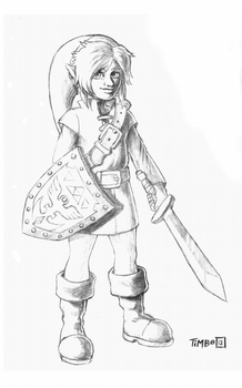 Teen Link Pensils by Timbo1834