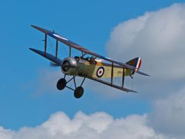 Sopwith Pup - Air Show Old Warden by davepphotographer