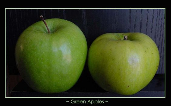 Green Apples...Or not? by kaiein