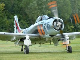 A 1 Skyraider by 0Savage0