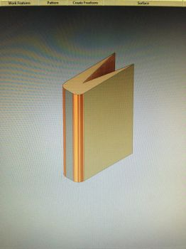 3D model book by alphaSilverShade