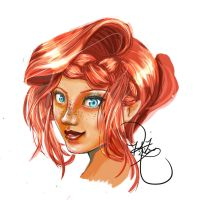 Redhairpreview by KazIsANinja